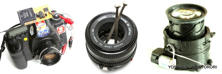 Make FD 50mm to Focus shift lens.