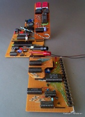 Electronic sculpture / Z80 computer